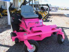- Pink Tractor Mower - #Pinklove #Tractor #Mower #Lawnmower #HotPink http://www.pinterest.com/TheHitman14/hey-ladies-pink-love-%2B/