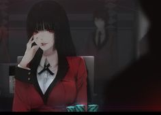 Jabami Yumeko, Aoi Ogata on ArtStation at https://www.artstation.com/artwork/4xglq