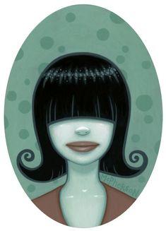 Tara McPherson   ART Paintings Gallery 1 Follow Me