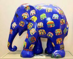 Nice Elephant Parade, Elephant Art, Elephant Figurines, Animal Paintings, Elephants, Sculpture Art, Statues, Trunks, Photographs