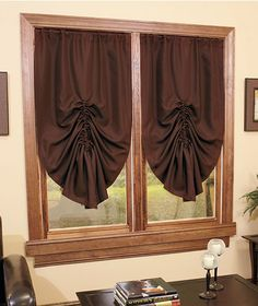 Would love to get these in burgundy for the windows on the west side of my living room.