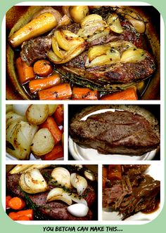 Was there ever a comfort food that will chase away the blues on a cold, snowy Winter day better than a simple pot roast? Making a pot roast reminds me of home, with great smells in the kitchen and …