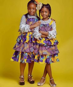 Hello here are some lovely and stylish ankara designs for the young girls out there. These ankara designs will make them look good in this festive season, let's check them out. Ankara Styles For Kids, African Dresses For Kids, Latest African Fashion Dresses, African Print Fashion, African Prints, African Fabric, African Babies, Girls Dresses, African Clothes