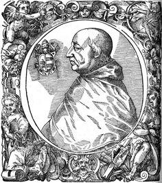A portrait of Pope Alexander VI (1431-1503).