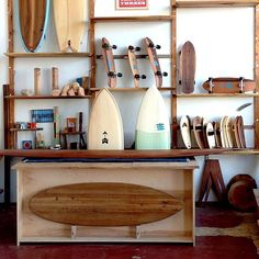 "Like the ancient Polynesians who invented surfing, @dannyhess makes beautiful custom surfboards out of wood, which is uncommon for surfboards made today. ""Salvaged and responsibly harvested wood is by far the best material for engineering a light, responsive, and durable board,"""