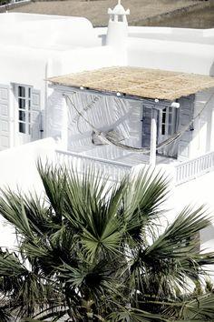 Mykonos, terrasse, patio