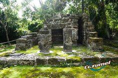 Mayan ruins Cozumel, Mexico