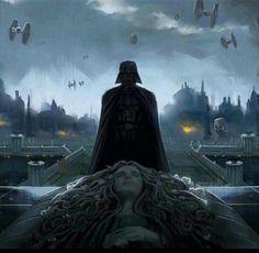 Star Wars - Darth Vader / Padme Amidala