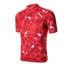 Sale 17% (9$) - Mens Cycling Jersey MTB Bicycle Cycling Short Sleeve Elasticity Polyester Breathable Quick Dry