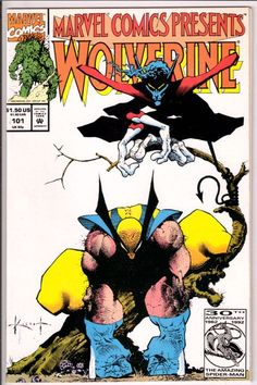"Marvel Comics Presents Wolverine Male Bonding 1 of 8 ""In the Centre Ring"" - Wolverine/Nightcrawler arc Comic Book Artists, Comic Book Characters, Marvel Characters, Comic Artist, Comic Character, Character Design, Character Drawing, Marvel Comic Books, Marvel Art"