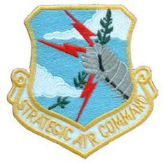 Strategic Air Command Embroidered Patch