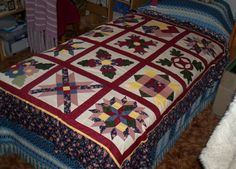 My Second Sampler Quilts, Blanket, Rugs, Home Decor, Scrappy Quilts, Farmhouse Rugs, Decoration Home, Room Decor, Quilt Sets