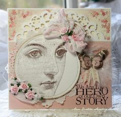 Anne Kristine: Crafting ideas from Sizzix UK: Birthday Card