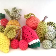 Amigurumi Fruits Et Legumes : 1000 idees sur Fruits En Crochet sur Pinterest Amigurumi ...