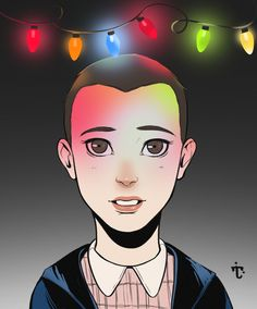 Eleven from Stranger Things by Taylae Art