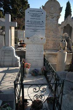Cenotáfio de Giuseppe Garibaldi. # Nice, França.