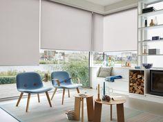 Luxaflex® Designer Roller Blinds stunning fabrics, designs and award winning operation. #Luxaflex #RollerBlinds #Interiors