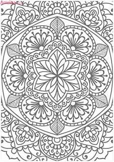 Mandala Doodle Colorful Drawings Color Patterns Trippy Glass Art Zentangle Coloring Pages Doodles Madness