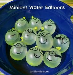 Minions Water Balloons hilarious summer fun for kids! is part of Kids Crafts Birthday Summer Fun - These Minions water balloons are super fun to make and even more fun to throw! Outdoor Fun For Kids, Summer Fun For Kids, Outdoor Activities For Kids, Summer Activities, Games For Kids, Cool Kids, Outdoor Games, Summer Ideas, Outdoor Play