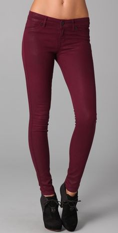 Coloured jeans... love! Just bought some in this colour