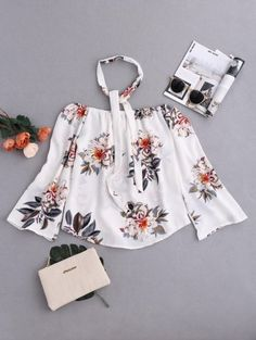GET $50 NOW | Join Zaful: Get YOUR $50 NOW!http://m.zaful.com/floral-off-shoulder-choker-blouse-p_269376.html?seid=2483293zf269376