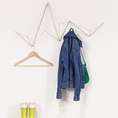 Hangram Coat Rack - White - by Femma Design #MONOQI