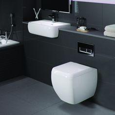 Frontline Metro Wall Hung Toilet & Basin Suite