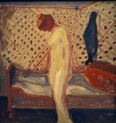 Edvard Munch. Femme en pleurs  1907-1909. Huile sur toile