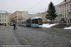 007 Linz Hauptplatz 04.01.2011 - Bombardier Cityrunner