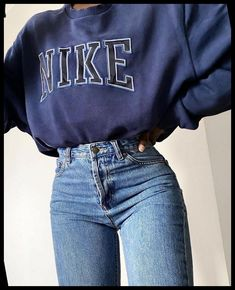 Trendy Fall Outfits, Casual School Outfits, Teen Fashion Outfits, Retro Outfits, Mode Outfits, Cute Casual Outfits, Look Fashion, Outfits For Teens, Stylish Outfits