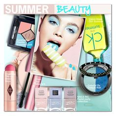 """""""Summer Beauty"""" by barbarela11 ❤ liked on Polyvore featuring beauty, NYX, Vera Bradley, Christian Dior, Charlotte Tilbury, Too Faced Cosmetics, Calvin Klein, Sephora Collection and Nails Inc."""