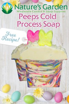 Free Peeps Cold Process Soap Recipe by Natures Garden