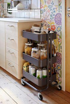 IKEA Hammarp Countertop To Kitchen Wall Storage (IKEA Hackers) | Kitchen  Wall Storage, Wall Storage And Storage