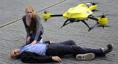 Medical Emergency Drones - The Ambulance Drone Sends First Aid Supplies Quickly to the Scene