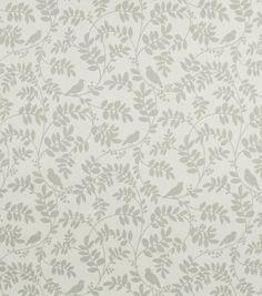Home Decor Print Fabric-DwellStudio Botany Flora Taupe