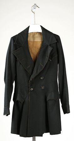 1830, America or Europe - Coat
