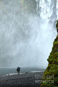Iceland Skogar Waterfall 08 Photograph
