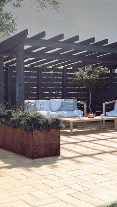 28 Absolutely dreamy Bohemian garden design ideas - New ideas Diy Pergola, Metal Pergola, Pergola With Roof, Pergola Shade, Gazebo, Outdoor Pergola, Retractable Pergola, Modern Pergola, Covered Pergola