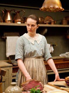 downton abbey season 3: ivy the new kitchen   maid