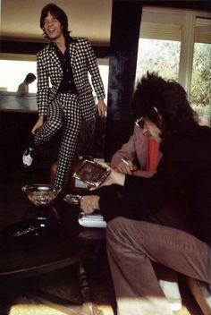 Mick Jagger, Keith Richards. The Rolling Stones
