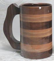 Wood Mugs, Wood Tankards, Wood Steins, Wood Goblets and Wooden Beer Mugs