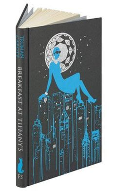 Breakfast at Tiffany's, by Truman Capote.  A beautiful Christmas present by my partner: the folio society edition! A real pleasure to read.