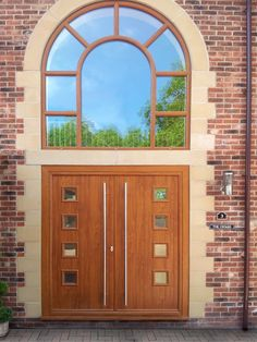 Part of our Composite French Door Range from the Solidor Collection, you can design your perfect new front door online and get a quote and have it fitted anywhere in the UK. #timbercompositedoors #solidor #solidorcompositedoors #compositedoors #newfrontdoor #compositefrenchdoors