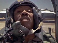 "Clip from ""Iron Eagle"" - Doug at the test range (Louis Gossett Jr. Louis Gossett Jr, Iron Eagle, Full Throttle, Oscar Winners, I Movie, Hot Dogs, Army, Scene, Range"