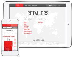 Golla verkkosivuston suunnittelu 2011