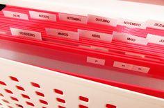 Como organizar as contas?