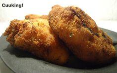 Cuuking!: Croquetas de pollo y verdura asadas