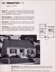 298 Best Cape Cod Houses images in 2019 | Cape cod, House ...  Cape Cod House Plans on l shaped ranch house plans, original levittown house floor plans, 1945 house plans, cape cod cottage plans,
