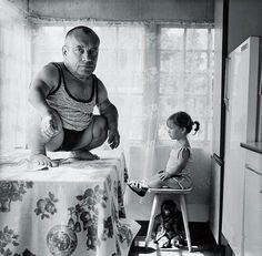 "Russian photorapher, Alla Esipovich's photo series ""No Comment,"" reminds me of David Lynch or Joel-Peter Witkin. Her unusual models and moody black and white images capture a bizarre, circus-esque world. Alla Esipovich (via iGNAT) Welcome To Reality, Cindy Sherman, Diane Arbus, Bizarre, Old Photographs, Man Ray, Vintage Circus, Black N White Images, Photo Series"