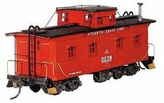American-Models Caboose HO Scale Model Train Freight Cars. I miss the caboose.  It doesn't need crew. Just hang it on the end. Maybe sell tickets to ride.